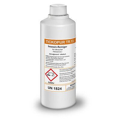 Tickopur TR 13  Intensiv-Reiniger für Ultraschall 1 Ltr. Reinigungskonzentrat