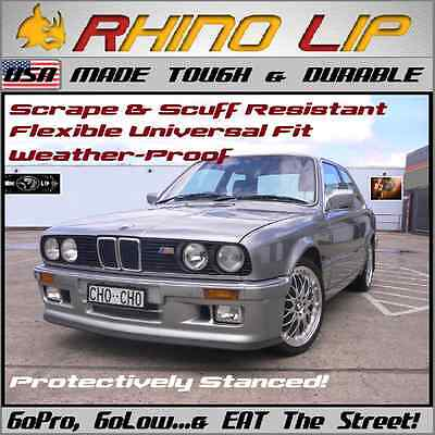 BMW 3-Series F30 F31 F80 Coupe Cabrio Sedan Touring Spoiler Rubber Chin Lip Trim