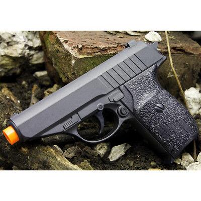 Airsoft Spring Air Pistols - NEW METAL P232 SPRING AIRSOFT PISTOL FULL SIZE BLACK HAND GUN AIR w/ 6mm BB BBs