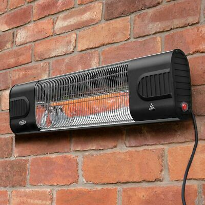 Harrier Wall Mounted Patio Heater | INFRARED PATIO HEATER – Electric Heater
