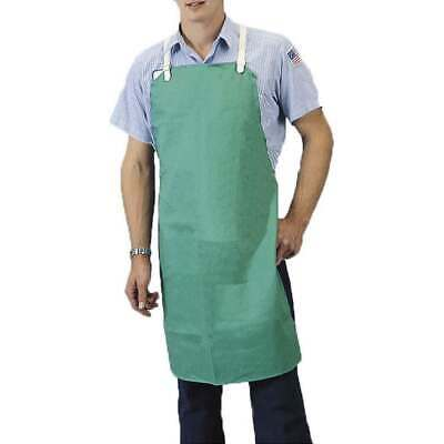 Tillman 6236 24x36 9 Oz. Green Flame Resistant Cotton Bib Apron