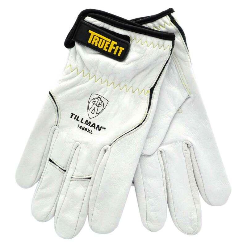 Tillman 1488 Truefit Top Grain Goatskin Tig Welding Gloves Medium