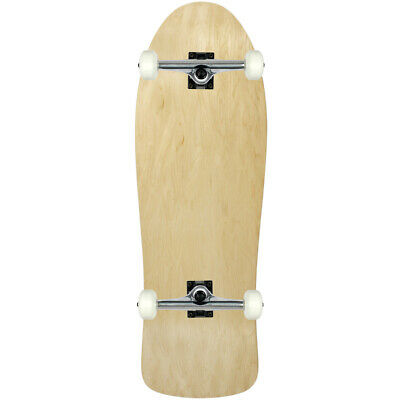 "Moose Skateboards Old School 10"" x 30"" Natural Blank Skateboard Complete"