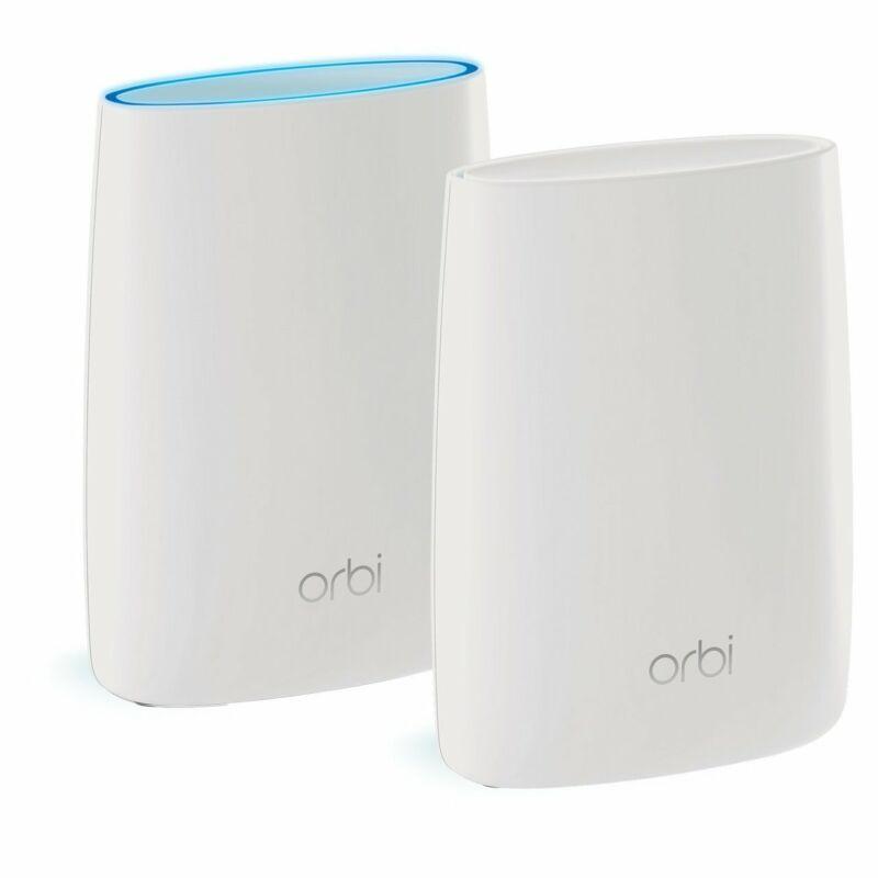 NETGEAR RBK50-100NAR Orbi Home Mesh WiFi 2Pack System - Certified Refurbished
