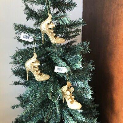 12 x large gold beaded sparkle décoration arbre de noël baubles décorations