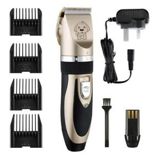 electric pet dog grooming pet hair trimmer kit