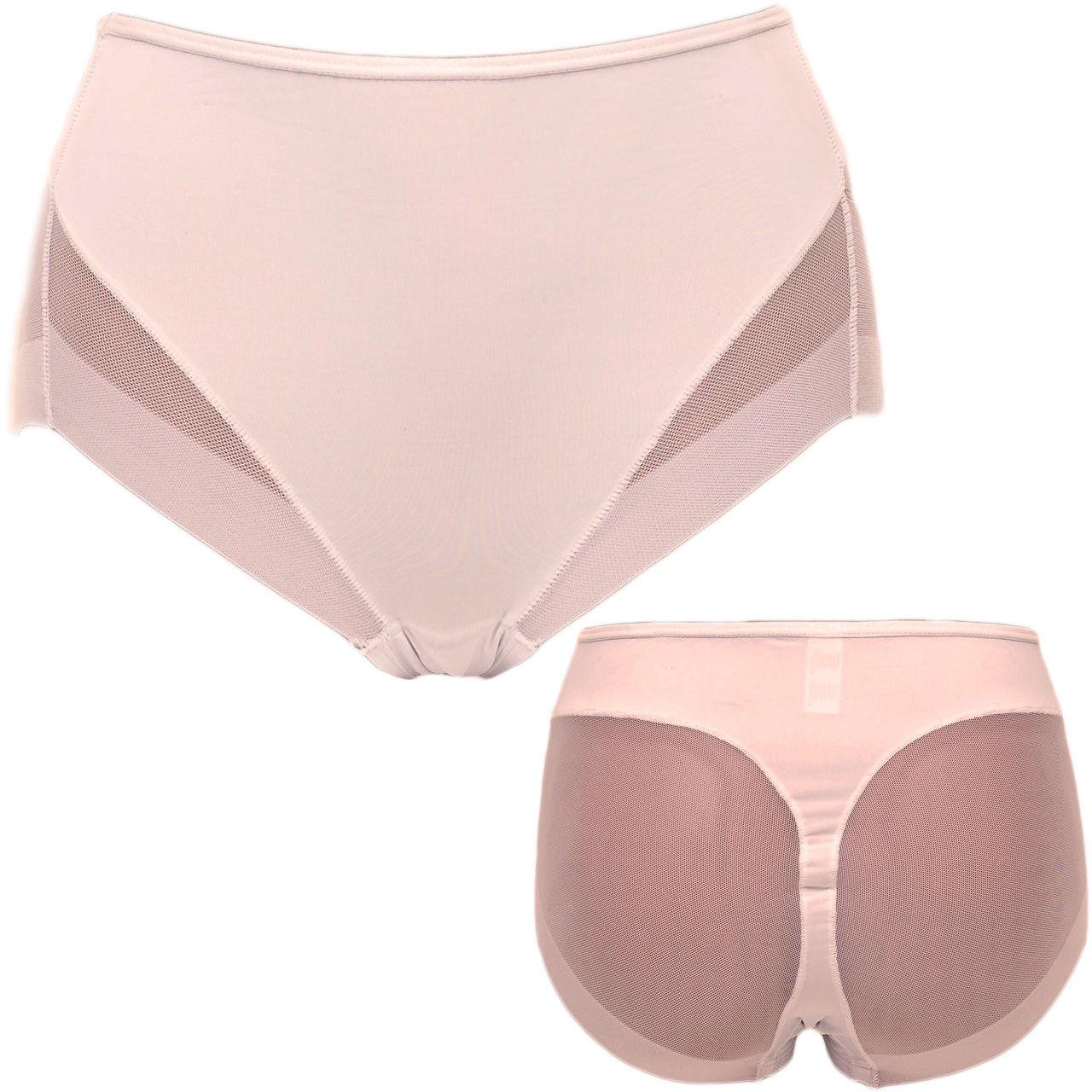 1-4 Miederslip Miederhose Shapewear  Bauchweg Unter Wäsche Hose Po-formende M-XL