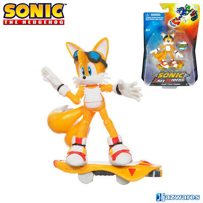 SONIC The Hedgehog 65503 Sonic Free Riders: Tails, Figure, Cartoon - Sonic Characters Tails