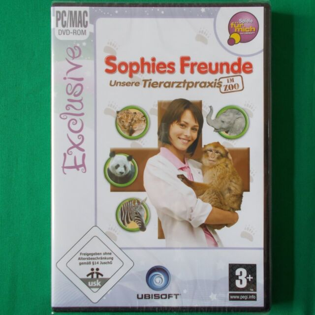 PC - DVD ROM ► Sophies Freunde: Unsere Tierarztpraxis im Zoo ◄ NEU & OVP