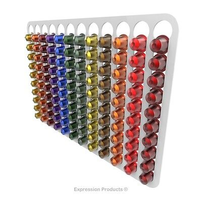 Nespresso original coffee capsule pod holder, wall mounted (pods not included)