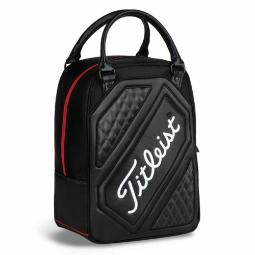 NEW - Titleist BLACK Carry Shoe or Ball Shag Bag, Free shipping
