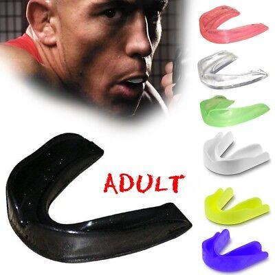 Boxing Gum Shield MMA Martial Arts Mouth Guard Teeth Protection Junior & Senior