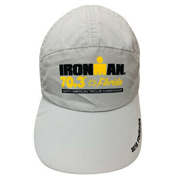 Boco Gear Tri hat with Ironman 70.3 Florida Logo 2017 Triathlon Finisher Hat gra