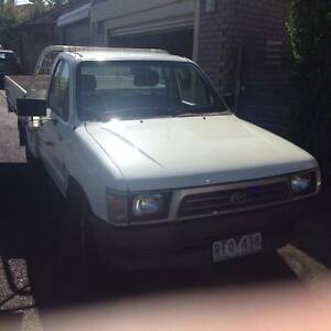 Toyota-Hilux-Ute '98 3.0 lt Diesel 5 Speed Manual South Yarra Stonnington Area Preview