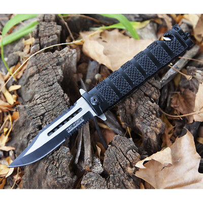 "8.5"" TAC FORCE SPRING ASSISTED TACTICAL FOLDING KNIFE Blade Assist Open Pocket"