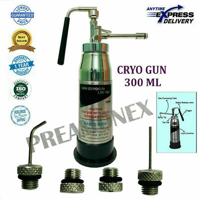 Mini Cryo Can General Liquid With 4 Probes 300ml For Dermatology Model- Lnc -196
