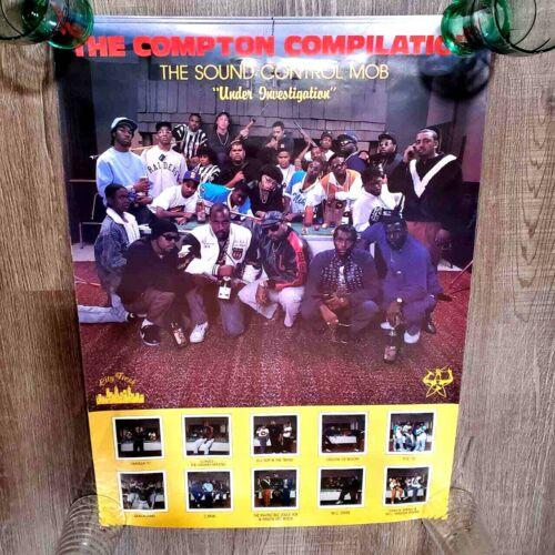 The Compton Compilation Sound Control MOB LP CMW Mc eiht DJ Slip 80s Hip Hop