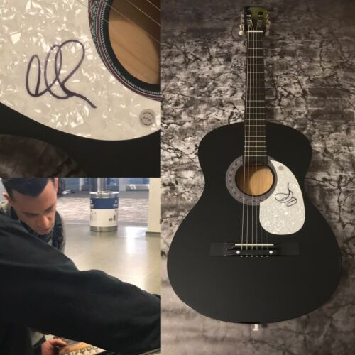 GFA O.A.R. The Wanderer * MARC ROBERGE * Signed Acoustic Guitar PROOF COA