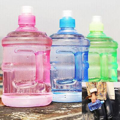 New 1L Large Big Sport Gym Training Drink Water Bottle Cap Kettle Workout (Plastic Water Bottles)