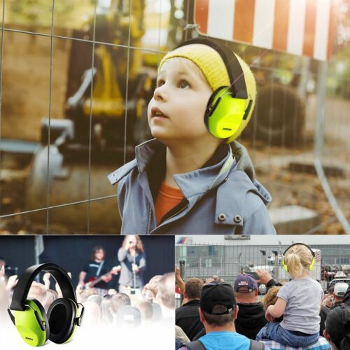 Mpow Noise Protection Ear Muff Boomstick Folding Safety For
