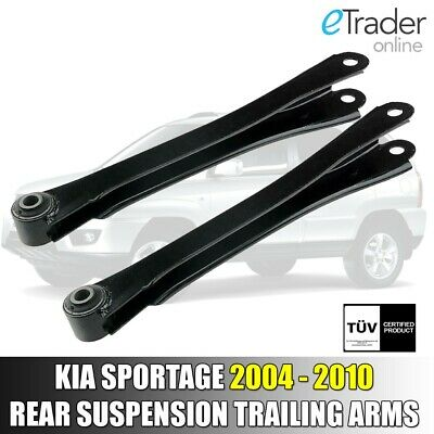For Kia Sportage Rear Left Right Wishbone Suspension Trailing Arms 2004-2010 x2