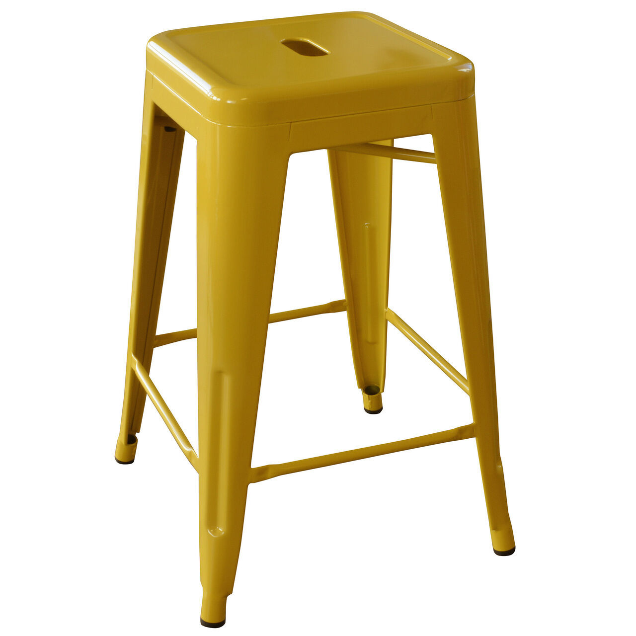 Amerihome Bs24gold 24 Inch Gold Metal Bar Stool 2 Piece