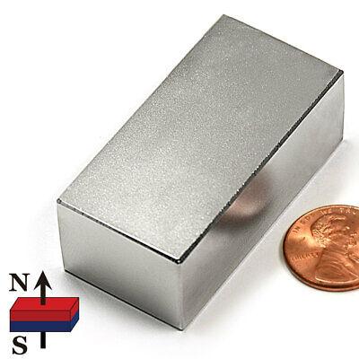 Multi Piece N52 Neodymium Magnets 2x1x34 Ndfeb Rare Earth Magnets