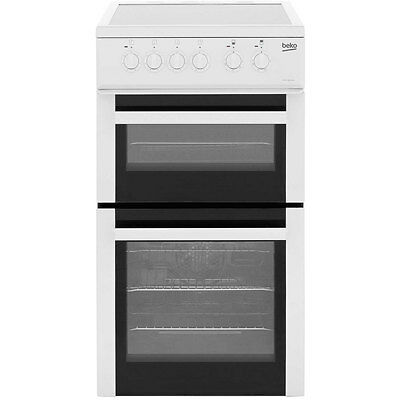 Beko BDVC563AW Free Standing Electric Cooker with Ceramic Hob 50cm White New