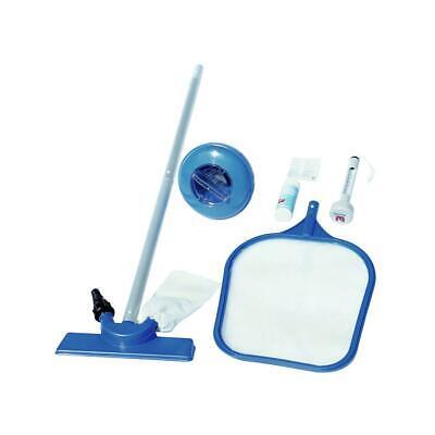 Kit Limpieza Mantenimiento Piscina Bestway Set Accesorios Azul 98603 - Nueva