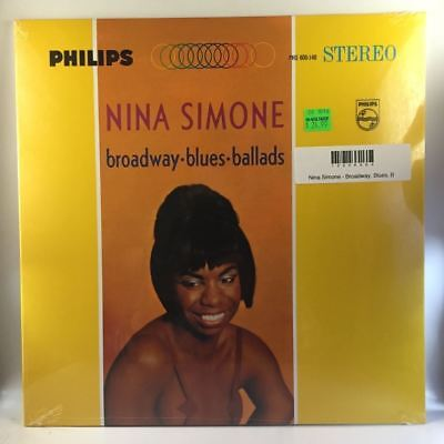 Nina Simone   Broadway  Blues  Ballads Lp New