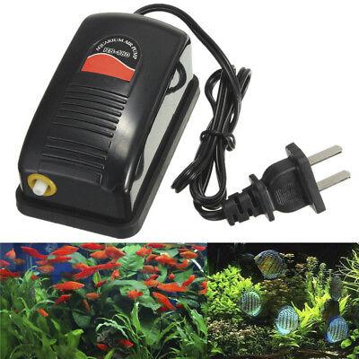 Energy Adjustable Silent Efficient Fashion Aquarium Oxygen Fish Air Pump -