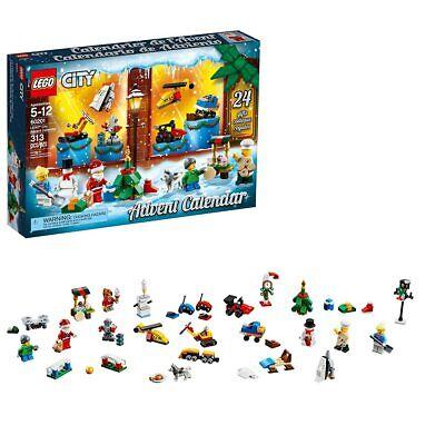LEGO City Advent Calendar 60201, New 2018 Edition, Minifigures, Small Building T