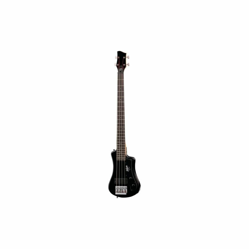 HÖFNER Shorty Bass BK - 4-Saiter Electric Bass Incl. Bag