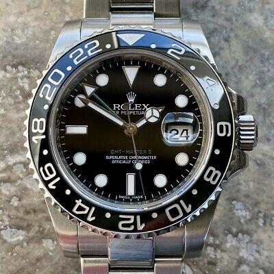 Rolex GMT Master 2 model 116710 LN Wrist Watch