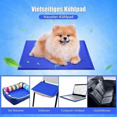 Selbstkühlende Matte Kühlmatte Kühlkissen Kühldecke für Hund und Katze DE
