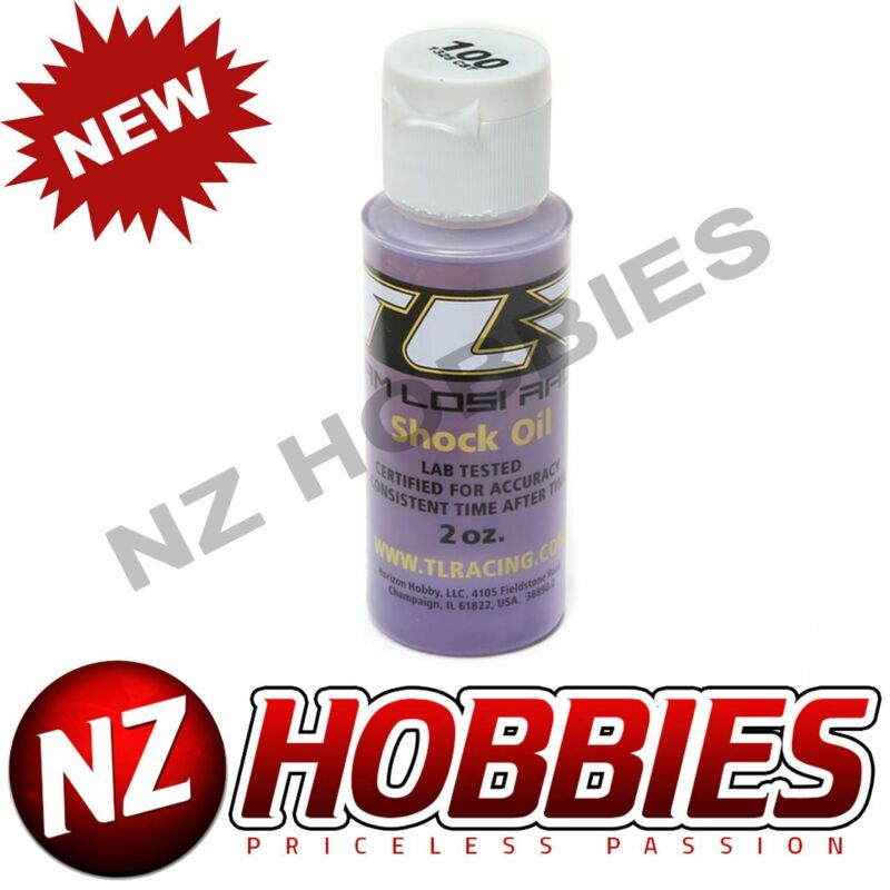 Losi TLR74018 SILICONE SHOCK OIL, 100WT, 1325CST, 2OZ