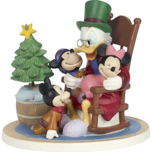 Disney Showcase Precious Moments Scrooge McDuck Mickey Christmas Carol Figurine
