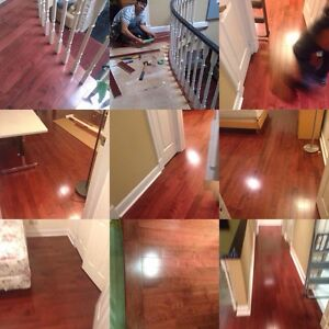 Installation of  any kinds of floor with lots of referrals