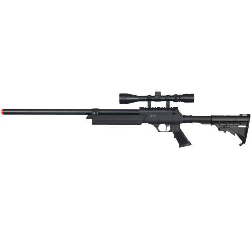 WELL APS SR-2 MODULAR METAL AIRSOFT BOLT ACTION SPRING SNIPER RIFLE GUN w/ Scope