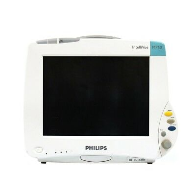 Philips Intellivue Mp50 Patient Monitor With M3001a Module Printer - Tested