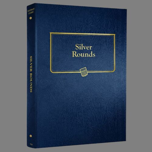 Whitman Silver Round Coin Album #9150