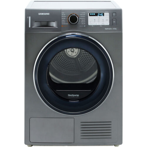 Samsung DV80M50133X A++ Heat Pump Tumble Dryer Condenser 8 Kg Graphite