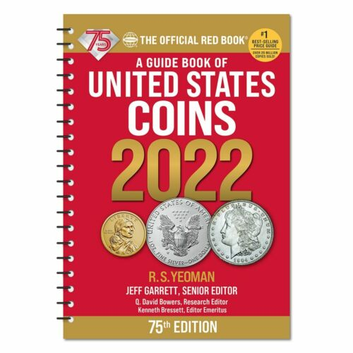 2022 - SPIRAL BOUND - RED BOOK ***75TH ANNIVERSARY EDITION*** PRE-SALE