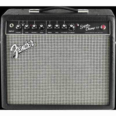 Fender Super Champ X2 - Amplificador de Guitarra Eléctrica, Todo Tubo, 15...