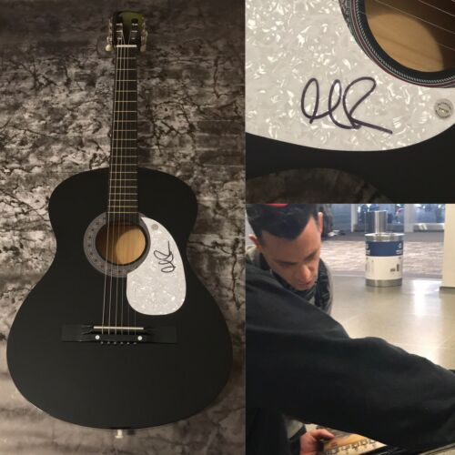 GFA O.A.R. The Rockville * MARC ROBERGE * Signed Acoustic Guitar PROOF COA
