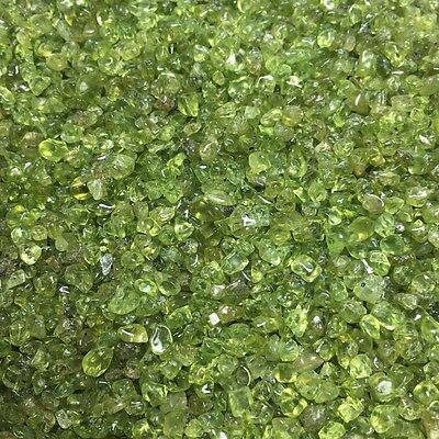 5kg  Natural peridot gravel polishing degaussing stone fish tank decoration
