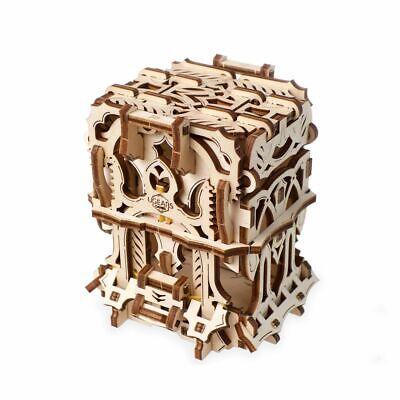 UGEARS Kartenbox mechanische Bausatz Modell