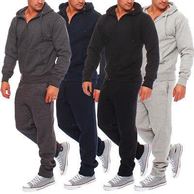 Hype Inc Herren Jogging Anzug Trainingsanzug Sweatshirt Hose Sportanzug