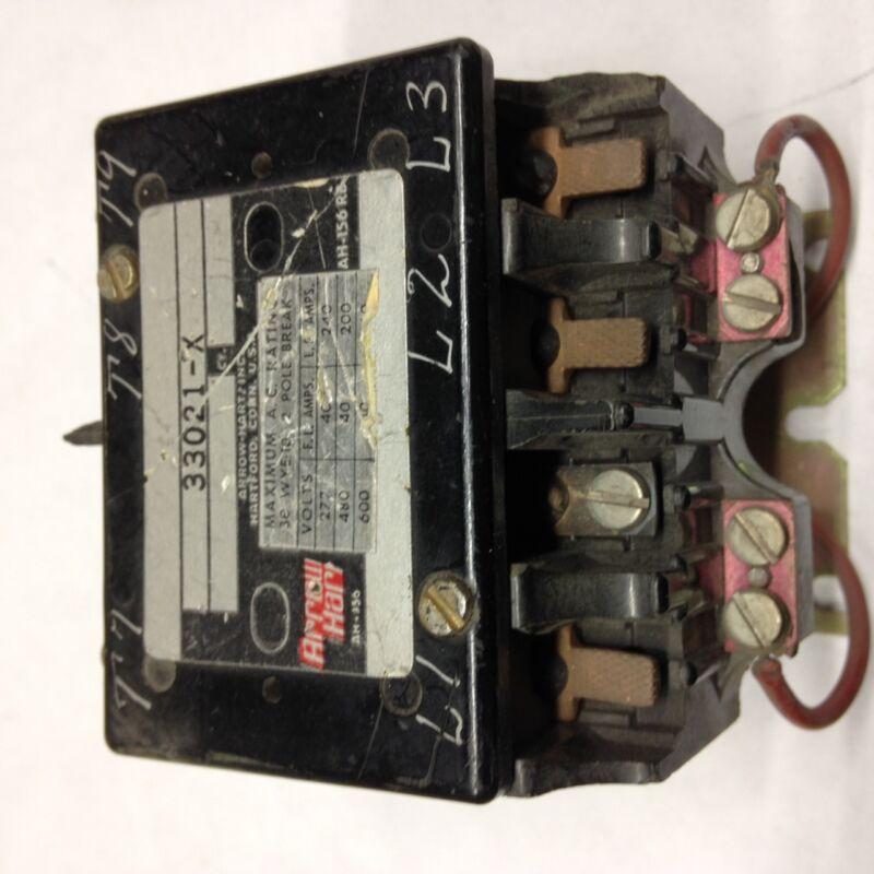 33021-X Arrow Hart Contactor 208V Coil