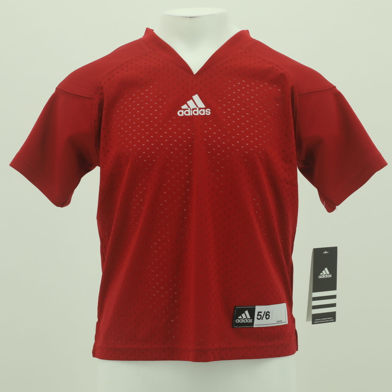 51d6cbcd18c Details about Indiana Hoosiers Official NCAA Adidas Youth Kids Size Blank  Football Jersey New
